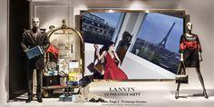"HOTEL LE PRINTEMPS,Paris, France welcomes: ""LANVIN"", pinned by Ton van der Veer"