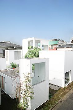 Moriyama House Ryue Nishizawa, SANAA