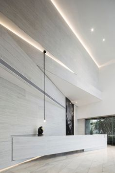 Home Decoration Ideas Images Grey Interior Doors, Lobby Interior, Room Interior Design, Interior Architecture, Home Design, Design Ideas, Corporate Interiors, Office Interiors, Interior Office