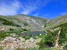 Lincoln Lake: 10.6 miles, Echo Lake Trailhead