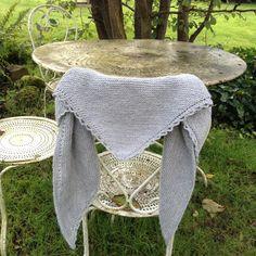 châle très simple à tricoter