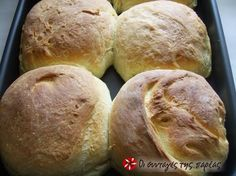 See what I'm cooking on Cookpad! Greek Bread, Tasty Bread Recipe, World Recipes, Dry Yeast, Greek Recipes, Tray Bakes, Crackers, Chips, Food And Drink