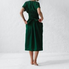 Discover Biome's slow fashion range - ethical fashion brands that are doing their bit for sustainability. Shop Kowtow, Mosov Organic, Seaside Tones, and more. Ethical Fashion, Slow Fashion, Kimono Dress, Dress Skirt, Apron Dress, Diy Vetement, Knot Dress, Layering Outfits, Linen Skirt