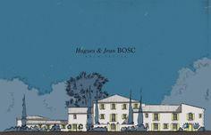 Concours remporté pour l'Hôtel BO à Saint-Rémy de Provence pour Belonika & les Chefs - Hugues et Jean BOSC Architectes.