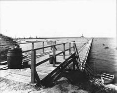 The old Red's Pier at Huntington Beach by the James River Bridge. Spent many summers here with Mom and Dad. Newport News Virginia, Virginia History, New View, Huntington Beach, Bridge, Old Things, River, Facebook, Mom