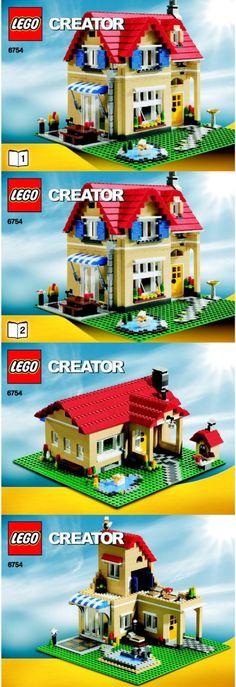 Cd Hilltop Manor Victorian House Lego Custom Pdf Book Instructions