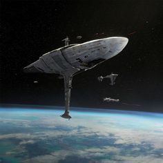 Grand Admiral Thrawn's custom Imperial Class-I Star Destroyer, and Admiral Raddus' MC75 Cruiser. Who would win in a fight? Cover artwork for SW Armada Wave VII. Art Director: Melissa Shetler Used under authorization and copyright of Lucasfilm Ltd. Published by Fantasy Flight Games
