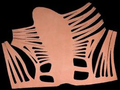 The pattern of Roman army caligae [sandals]...check out website for directions