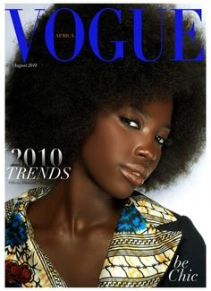 2010 Vogue Africa Cover