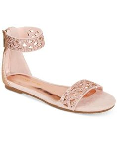 Ivanka Trump Girls' or Little Girls' Ellen Cut-Out Sandals  | macys.com