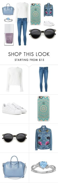 """""""Sans titre #3431"""" by merveille67120 ❤ liked on Polyvore featuring Proenza Schouler, Frame, adidas, Casetify, ZeroUV, Topshop, Givenchy and The Hand & Foot Spa"""