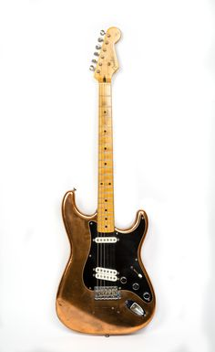 """Robbie Robertson's of The Band 1958 custom Fender Strat, played in concert film, """"The Last Waltz""""...."""