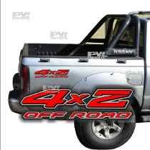 Calco Nissan Frontier 4x2 Off Road  Calcomania Ploteoya!