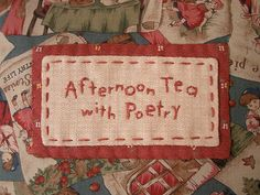 Storybook Pillow - embroidered label