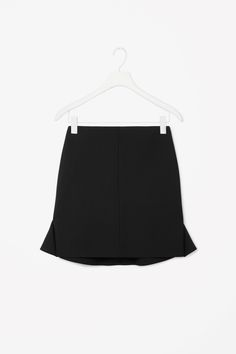 Flared back wool skirt - COS