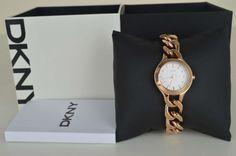 DKNY Donna Karan New York Damenuhr Uhr NY2214 Rosegold