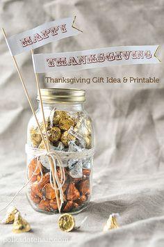 Thanksgiving Gift Ideas & Free Thanksgiving Printable