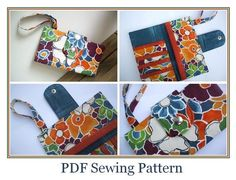 vicky myers creations » Blog Archive 5 Wallet Tutorials - vicky myers creations
