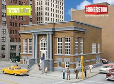 HO Scale: Public Library