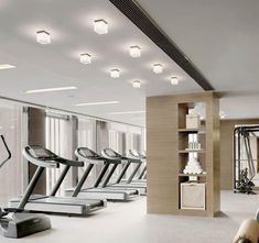 - Aktuel News Gym Interior, Interior Design, Sala Fitness, Gym Center, Gym Lighting, Gym Facilities, Gym Design, Fitness Design, Hotel Gym