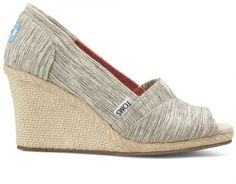 Toms Wedges Space-Dyed  - TOMS offers a variety of footwear styles for men, women and kids. From everyday men's shoes like Paseos to fun and flirty Strappy Wedges, we are passionate about both the fashion and compassion we offer.