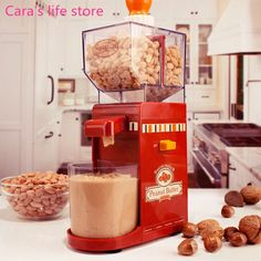 41.00$  Buy now - http://ali23k.shopchina.info/go.php?t=32549918634 - Mini electric nuts paste making machine peanut butter maker 41.00$ #buymethat