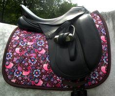 Custom Dressage Saddle Pad. $65.00, via Etsy.