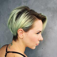 Pixie haircut @shear.renegade