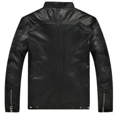 Hot Sale Factory Men Leather Jacket Genuine Real Sheepskin Leather Fashion Brand Short Man's Motorcycle Biker Coat Spring winter