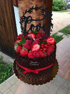 Chocolate Fruit Cake, Just Cakes, Food And Drink, Birthday Cake, Desserts, Cake, Tailgate Desserts, Deserts, Birthday Cakes