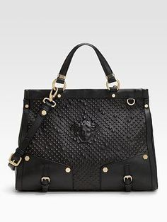 This beautiful Versace purse is called