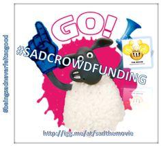 #LIVE NOW S.A.D #crowdfunding #campaign! http://igg.me/at/sadthemovie?utm_content=buffer15c05&utm_medium=social&utm_source=pinterest.com&utm_campaign=buffer Please #help to make the #film a #success #THANKYOU