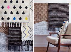 Les tapis custo de Mamie Boude