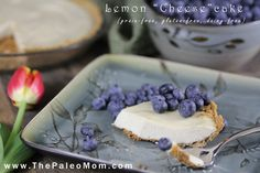 """My husband loves cheesecake but with his diet he cant eat it. Voila! A Paleo-friendly, grain-free, dairy-free """"cheese"""" cake. Oh yeah, and it's delicious!"""