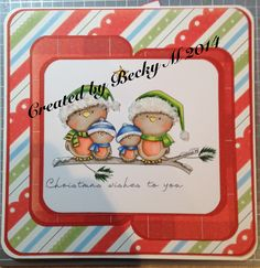 Digi Stamp Boutique's - Christmas Tweets.