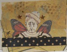 """Butterfly Clowns"" that will appear in Somerset Studio Gallery in June."