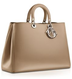 Diorissimo- beige leather Bag