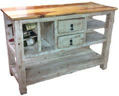Rustics For Less - Authentic, Rustic & Southwest Furniture - Kitchen Islands
