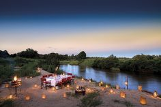 Goway's 4 Day South Africa game lodge experience at Lion Sands River Lodge offers you one of the warmest safari welcomes you could hope to encounter. Honeymoon Places, Honeymoon Packages, Honeymoon Ideas, Rhino Africa, Game Reserve South Africa, Luxury Tree Houses, Sand Game, River Lodge, Sleeping Under The Stars
