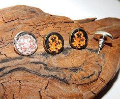 Ganesha earrings jewelry Ganesha simbol Indian God Hindu