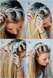 Danna Blancarte Dannablancarte En Pinterest - Peinado-trenza-facil