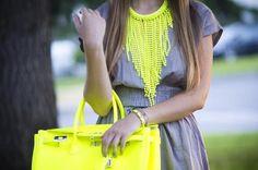 Neon Yellow Birkin