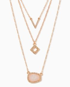 charming charlie | Akira Layered Necklace | UPC: 410007611312 #charmingcharlie
