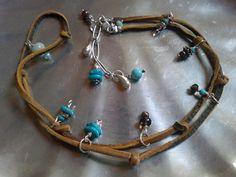 Turquoise Wrap Leather Bracelet