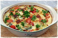 Suvikumpu: Aurajuusto-kasvisgratiini I Love Food, Good Food, Yummy Food, Keto Recipes, Cooking Recipes, Healthy Recipes, Finnish Recipes, Food Tasting, Vegetarian Keto