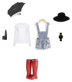 """""""Rainy Days"""" by bvbyaria on Polyvore featuring TIBI, Hunter, Off-White, CLUSE, NARS Cosmetics and ShedRain"""