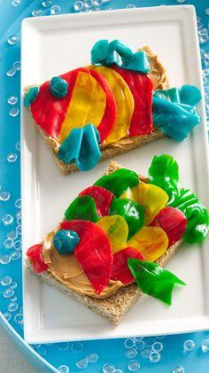 Fruity Fish Snacks