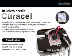 Only Medical 온리메디칼: Korea Beauty Equipmemt - Curacel(Radio Frequency+M...