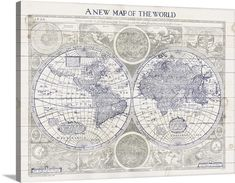 ©Sue Schlabach A New Map of the World