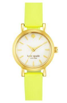 Citron watch// love mate spade
